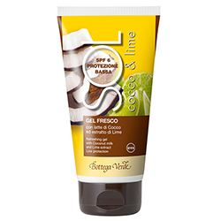 Protectie solara - Cocos si Lime - Gel racoros cu lapte de cocos si extract de lime, SPF6  (150 ML)