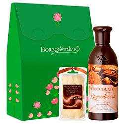 Set hidratare corp cu extract de cacao