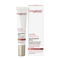 Tratament anti-oboseala pentru ochi, pentru ten matur, cu uleiuri vegetale active, ceramide si extract de orhidee - Nutrivegetal, 15 ML