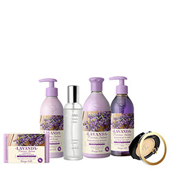 Set Lavanda Italiana Mix - Lavanda, 400 ML + 250 ML + 250 ML + 150 G + 100 ML