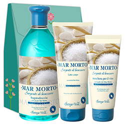 Set Ingrijire corp - Mar Morto, 400 ML + 100 ML + 200 ML