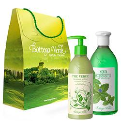 Set cadou - ceai verde si menta