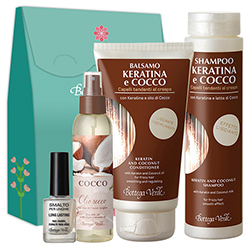 Set Cocos, 200 ML + 125 ML + 150 ML + 10 ML
