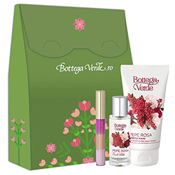 Set hidratare si parfumare - Pepe Rosa, 6.5 ML + 75 ML