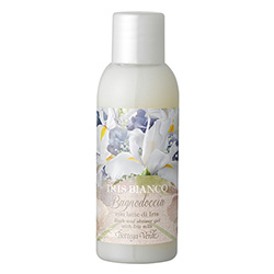 Mini gel de dus cu aroma de iris - Iris bianco, 50 ML