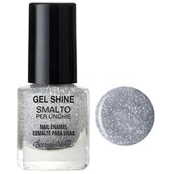 Gel shine - Lac de unghii  - argintiu metalizat
