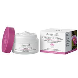 Crema de fata, de zi, pentru ten mixt, cu efect lifting cu unt de shea, acid hialuronic si extract din flori de lotus - Effetto Lifting, 50 ML