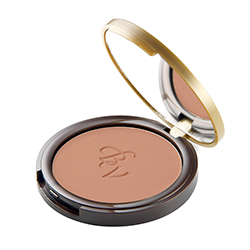 Pudra bronzanta, compacta, cu extract de camelie si vitamina E - pentru un rezultat natural  - maro aluna