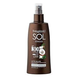 Lapte de corp, protejeaza si ajuta la intensificarea bronzului, cu lapte de nuca de cocos, SPF 30 - SOL Cocco, 200 ML