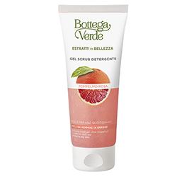 Gel de curatare si exfoliere delicata cu extract de grapefruit - Estratti di Bellezza, 100 ML