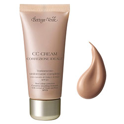 CC cream - corector ideal - tratament all in one uniformizant, cu extract de violete si orez - antiimbatranire - SPF20   - bej inchis