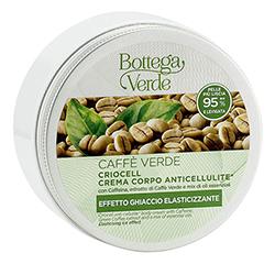 Crio gel anticelulitic cu extract de cafea verde si mix de uleiuri esentiale - Caffè Verde, 200 ML