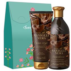 Set cadou - Gel de dus si crema de corp cu vanilie neagra