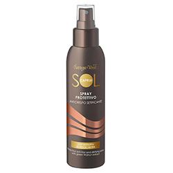 Spray pentru par cu protectie solara, cu extract de nuci verzi si filtru solar - Sol Capelli, 125 ML