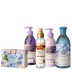 Set cadou - Iris - Special Vara 2016 - iris & lavanda & argan