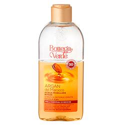 Apa micelara bifazica, pentru toate tipurile de ten, cu ulei de argan - Argan del Marocco, 200 ML