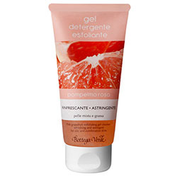 Gel demachiant exfoliant cu grapefruit roz