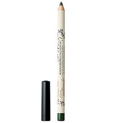 Creion pentru ochi alungiti, cu ulei de jojoba si unt de shea - delicat si intens, verde - 100% natural