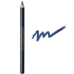 Creion de ochi contur intens cu ceara si Vitamina E  - negru albastru metal