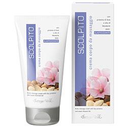 Crema de corp pentru masaj cu proteine de soia si ulei de migdale dulci - Scolpito  (150 ML)