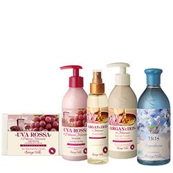 Set cadou - Mix Struguri rosii, Argan si Iris