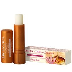 Balsam de buze, hidratant, cu ulei de argan si lapte de Iris, incolor - Argan e Iris, 5 ML