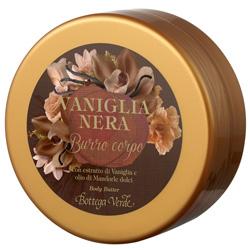 Unt de corp cu extract de vanilie neagra si ulei de migdale dulci - Vaniglia Nera  (125 ML)