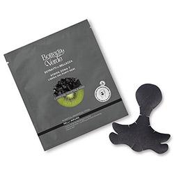 Masca pentru zona T cu extract de carbune si kiwi, negru