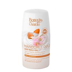Deodorat roll-on cu lapte si ulei de migdale dulci - Mandorle, 50 ML
