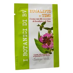 Mostra - Crema cu uleiuri esentiale de eucalipt si cimbru - I Botanici Di Bv, 4 ML
