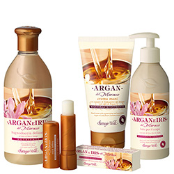 Set Argan si Iris , 400 ML + 75 ML + 250 ML + 5 ML