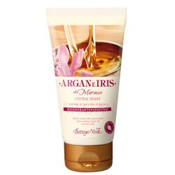 Crema de maini cu ulei de argan si lapte de Iris - Argan e Iris, 75 ML