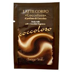 Mostra - Lapte de corp cu aroma de ciocolata - Cioccolato  (4 ML)