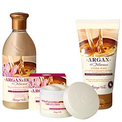 Set Ingrijire cu Argan si Iris crema de maini argan, 75 ML + 400 ML + 50 ML