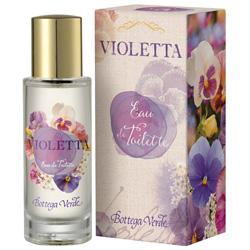 Apa de toaleta cu aroma de violete