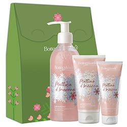Set cadou femei hidratant, pentru ingrijirea pielii - Mattino d'Inverno, 250 ML + 100 ML + 150 ML