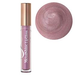 Luciu de buze cu efect metalic cu extract de flori de portelan, roz quart