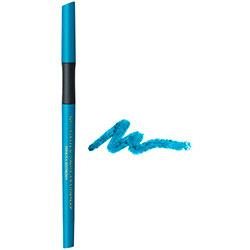 Creion de ochi waterproof, retractabil, cu vitamina C si E, turcoaz
