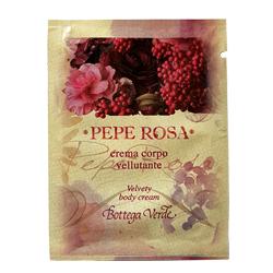 Mostra - Crema de corp cu extract de piper roz - Pepe Rosa, 4 ML