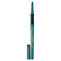 Creion de ochi retractabil, rezistent la apa, cu vitamina C si E, verde