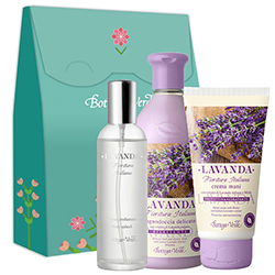Set Magic Lavanda Italiana - Lavanda, 400 ML + 75 ML + 100 ML