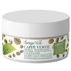 Crio gel anticelulitic cu extract de cafea verde si mix de uleiuri esentiale, verde jad - Caffè Verde, 200 ML