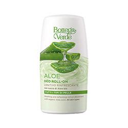 Deodorant roll-on cu extract de suc de Aloe Vera bio - Aloe, 50 ML
