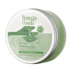 Exfoliant pentru corp, bland, cu suc de Aloe Vera bio - Aloe, 200 ML