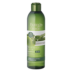 Sampon hidratant, cu aloe si mar verde, 2 in1 - Mela Verde, 250 ML