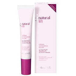 Crema pentru zona din jurul ochilor cu Argireline®, Pluridefence®  si extract de afine - Natural Lift, 15 ML
