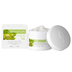 Crema - gel hidratanta pentru toate tipurile de ten cu extract de tei - Cremafiori, 50 ML