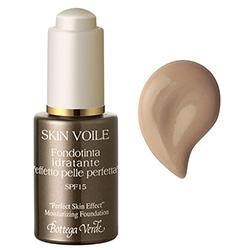 Fond de ten hidratant Skin Voile, efect de piele perfecta cu acid hialuronic si Aquaphyline®® ®, galben miere (25 ML)