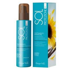 Tratament dupa plaja, reparator, cu extract de lemn dulce din Calabria si petale de floarea soarelui - Sol Protezione+, 150 ML