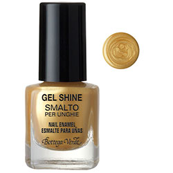 Gel shine - Lac de unghii   - auriu